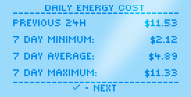 Energy Display