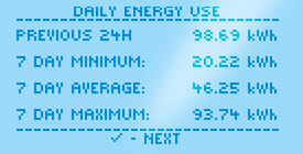 Screen DailyEnergyUse